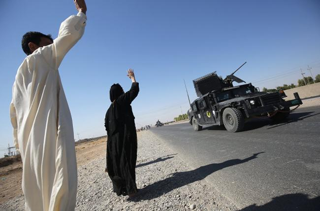 Иракские военные начали наступление на последний оплот ИГИЛ