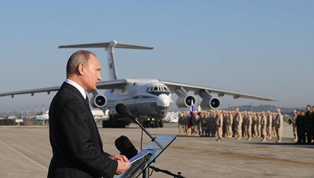 В Кремле рассказали о сроках вывода российских войск из Сирии
